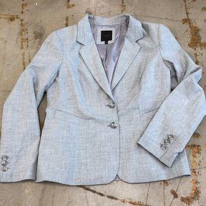 The Limited Grey Blazer